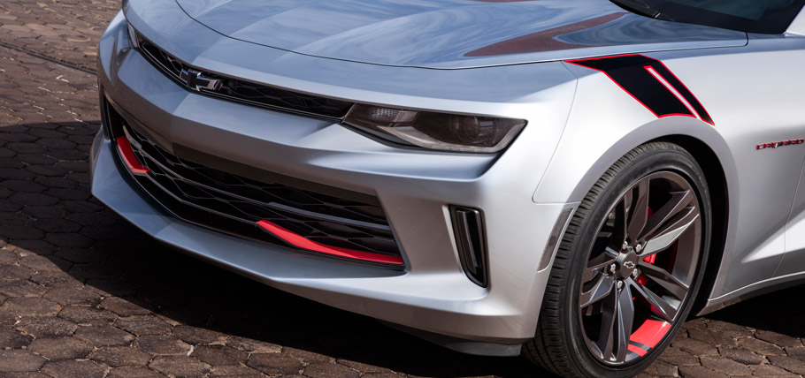 Chevrolet Camaro Red Line Series Concept Details