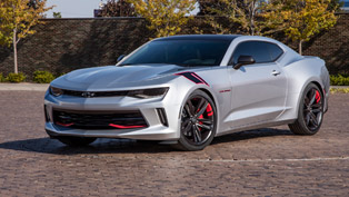 chevrolet to show unique red line series concept vehicles at sema