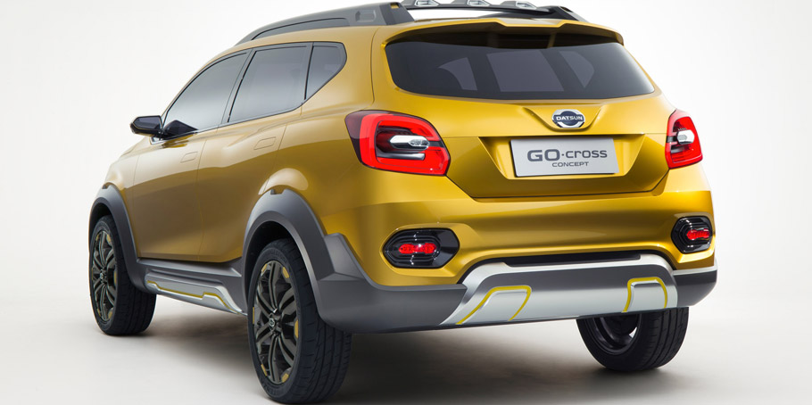 Datsun GO-cross Concept Rear View