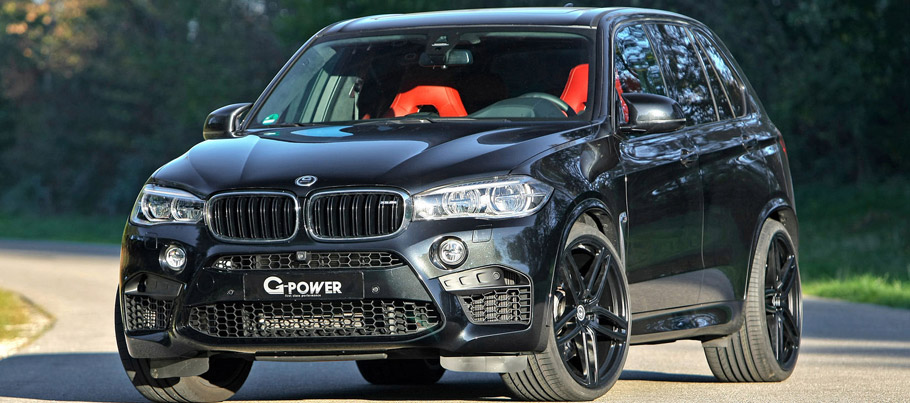 G-Power BMW X5 M F85 Front View
