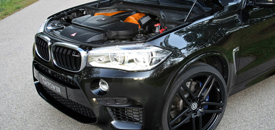 G-Power BMW X5 M F85 with Open Bonnet