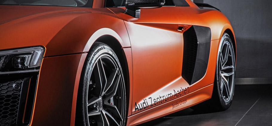 HplusB Design Audi R8 V10 Details