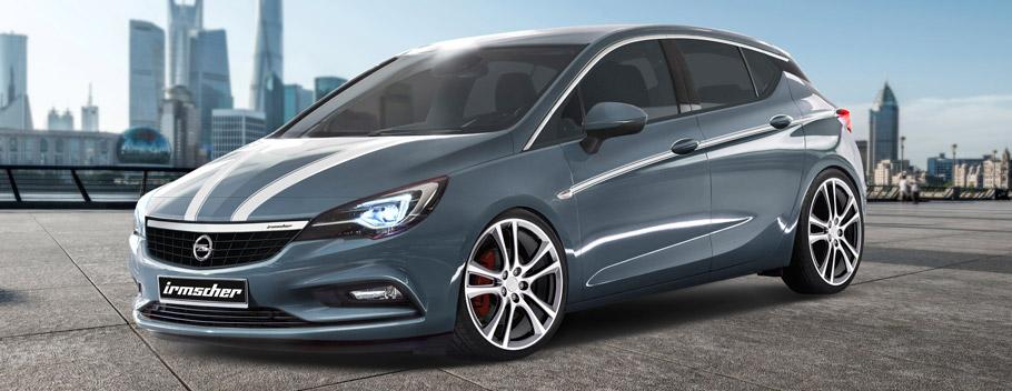 Irmscher Opel Astrain Grey - Side View