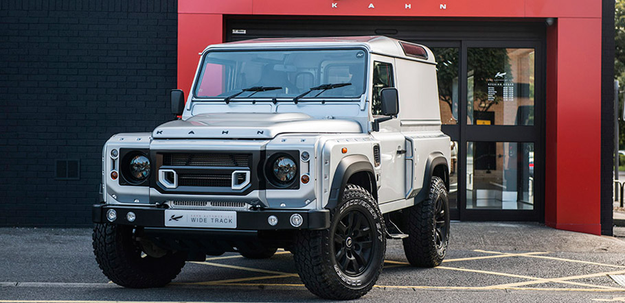 Kahn Land Rover Defender Hard Top CWT Fron View