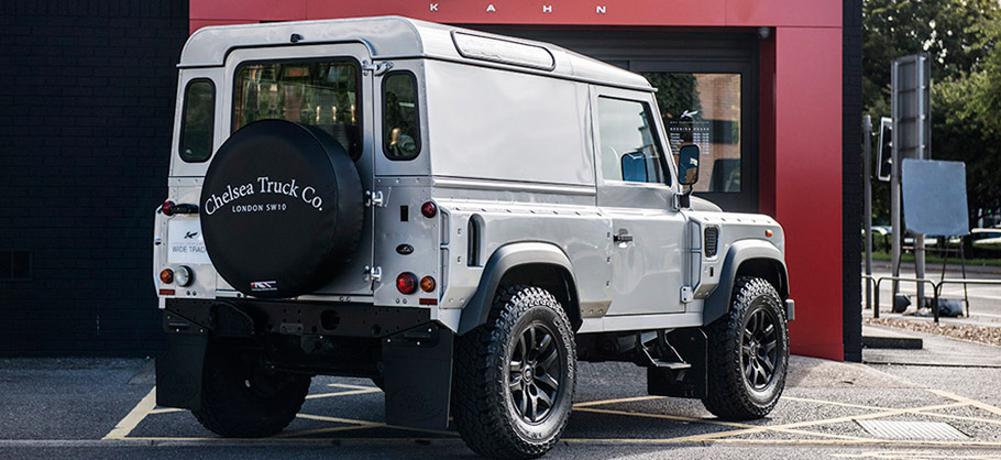 Kahn Land Rover Defender Hard Top CWT Rear View