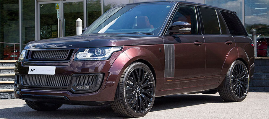 Kahn Range Rover Vogue RS650 Edition Front and Side View