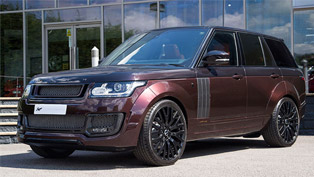 Kahn Previews Stylish Range Rover Vogue RS650 Edition