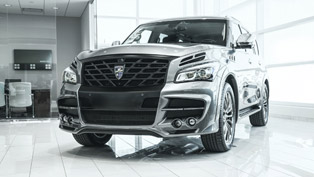 Autumn is Versatile in Colors and so is the Infiniti QX80 by LARTE Design [VIDEO]