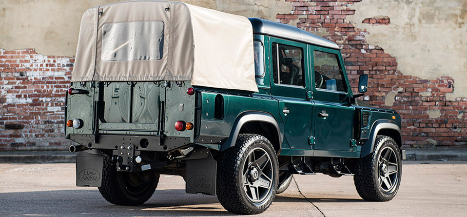 Kahn Reveals Land Rover Defender Rear View