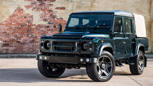 kahn reveals land rover defender 110 double cab pick up cwt