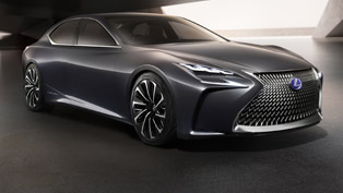 Lexus Demonstrated the LF-FC Concept At the 2015 Tokyo Motor Show