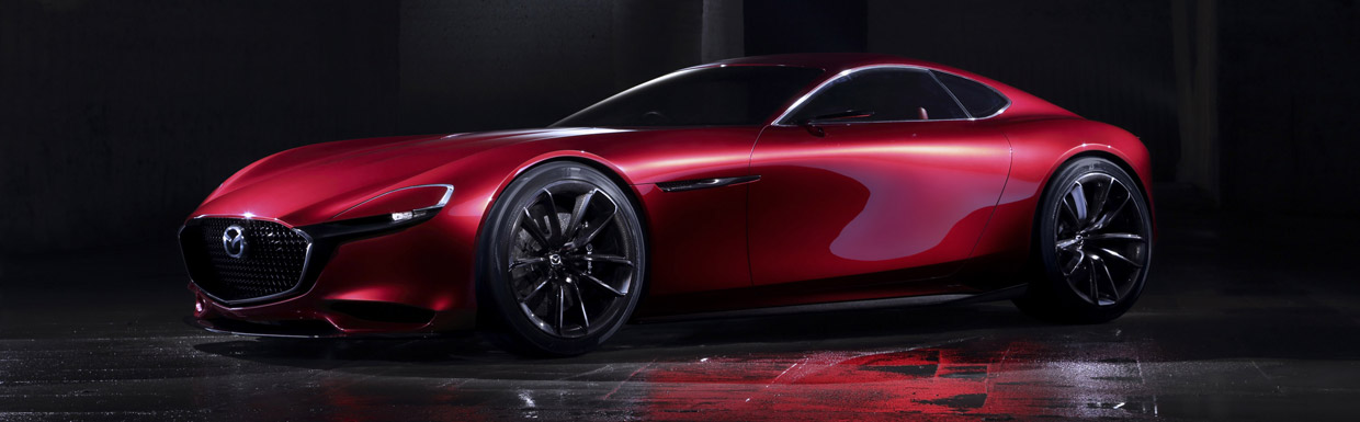 Mazda RX-VISION Concept Side View