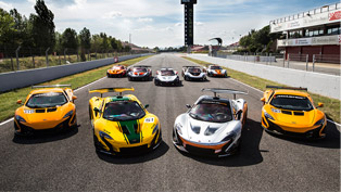 McLaren Starts Training Program In Order Drivers Tame the P1 GTR Beast