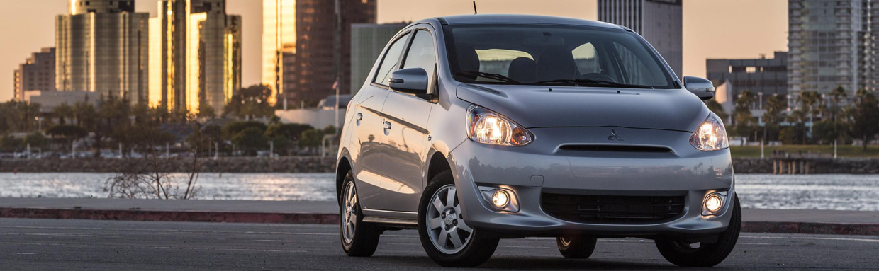 Mitsubishi Mirage Rockford Fosgate Edition Front View