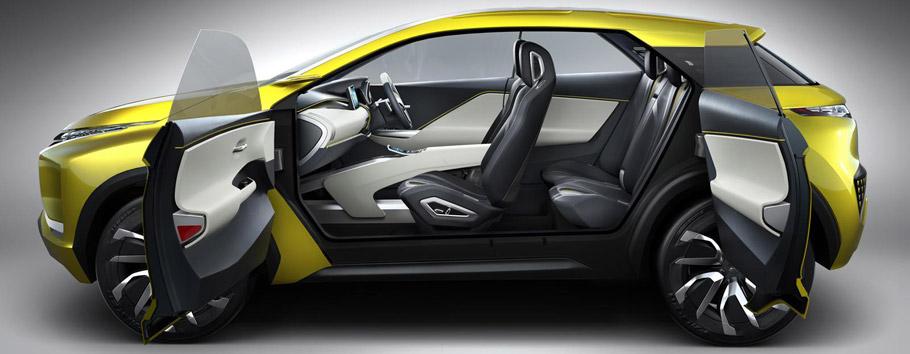 Mitsubishi Ex1 Concept Compact Suv