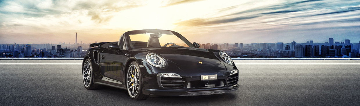2015 O.CT Porsche 911 Turbo S  Front View