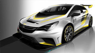 Opel Teases Astra TCR With Couple of Sketches