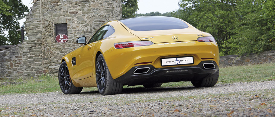 2015 POSAIDON Mercedes-AMG GT RS 700 Rear View