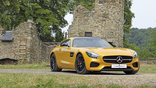 POSAIDON Knows How Good 700HP Are for Mercedes-AMG GT S [VIDEO]