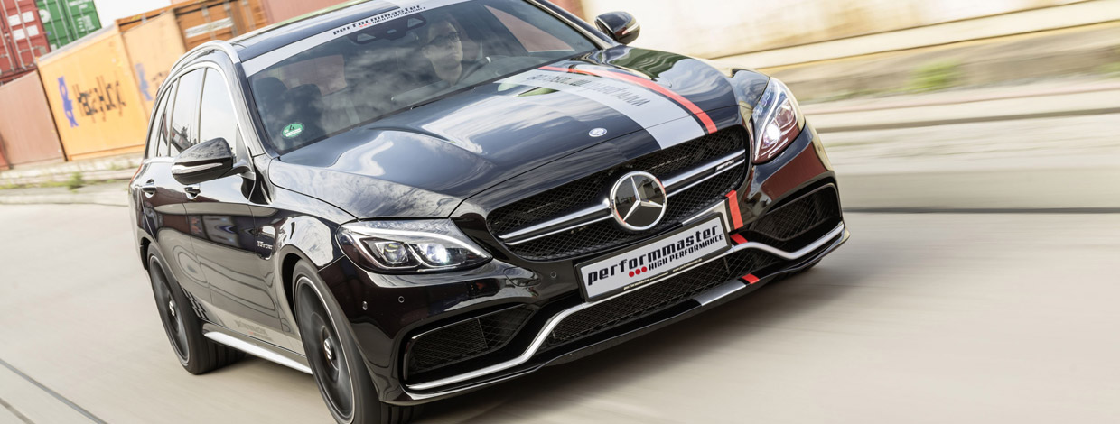 Performmaster Mercedes-AMG C63 Front View