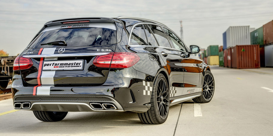 Performmaster Mercedes-AMG C63  Rear View