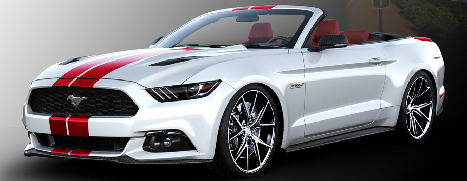 2015 SEMA Ford Mustang Side View