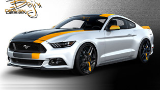 ford reveals the mustang lineup for sema