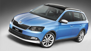 Skoda Introduces Combi ScoutLine to Fabia Range