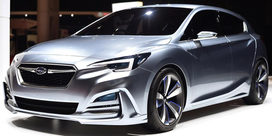 Subaru Impreza 5-Door Concept  Front view