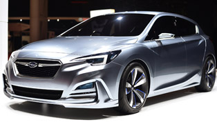 subaru impreza 5-door concept & wrx sti s207 debut in tokyo