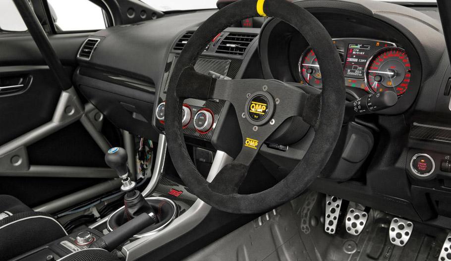 Subaru WRX STI NR4 Interior