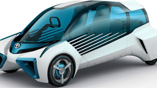 Toyota Demonstrates A Vehicle From the Distant Future!