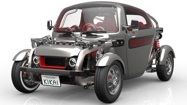 Toyota KIKAI: Steampunk and the Beauty of Metal