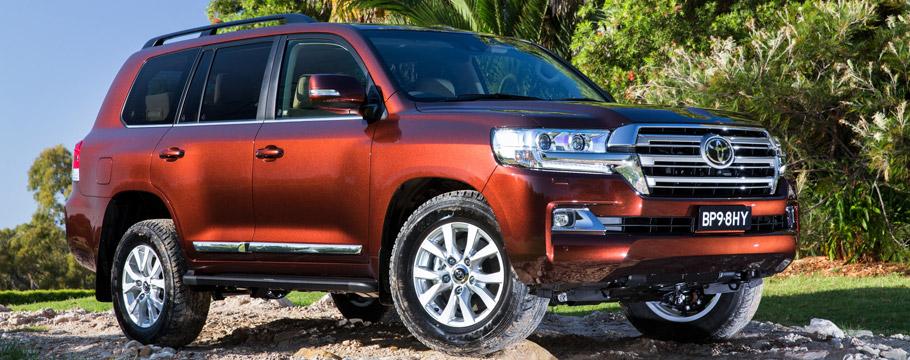 2015 Toyota Land Cruiser Sahara