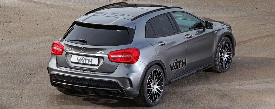 VÄTH Mercedes-Benz GLA 45 AMG  Rear View