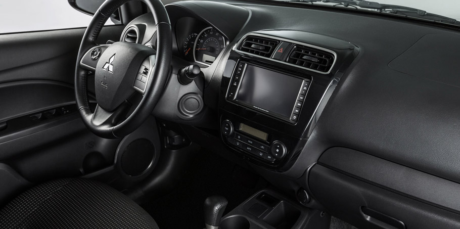 Mitsubishi Mirage Rockford Fosgate Edition Interior