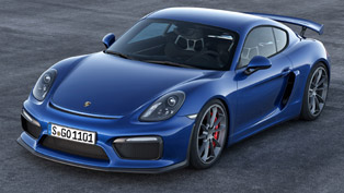 porsche cayman gt4 will be unveiled at los angeles motor show