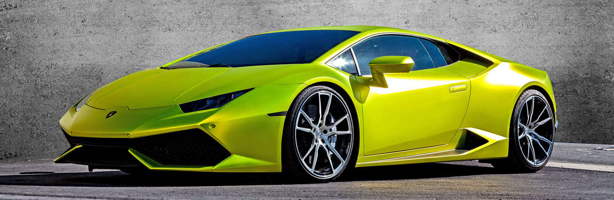 xXx Performance Lamborghini Huracán Front and Side view