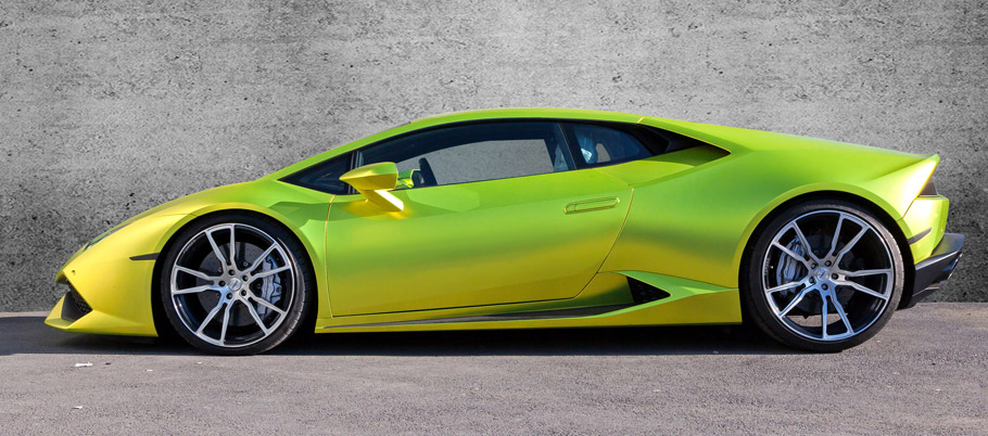 xXx Performance Lamborghini Huracán Side View