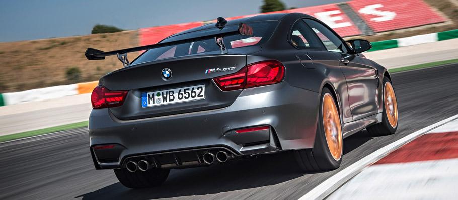 2016 BMW M4 GTS Rear View