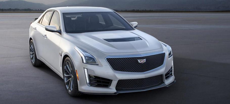2016-CTS-V Super-Sedan Front View