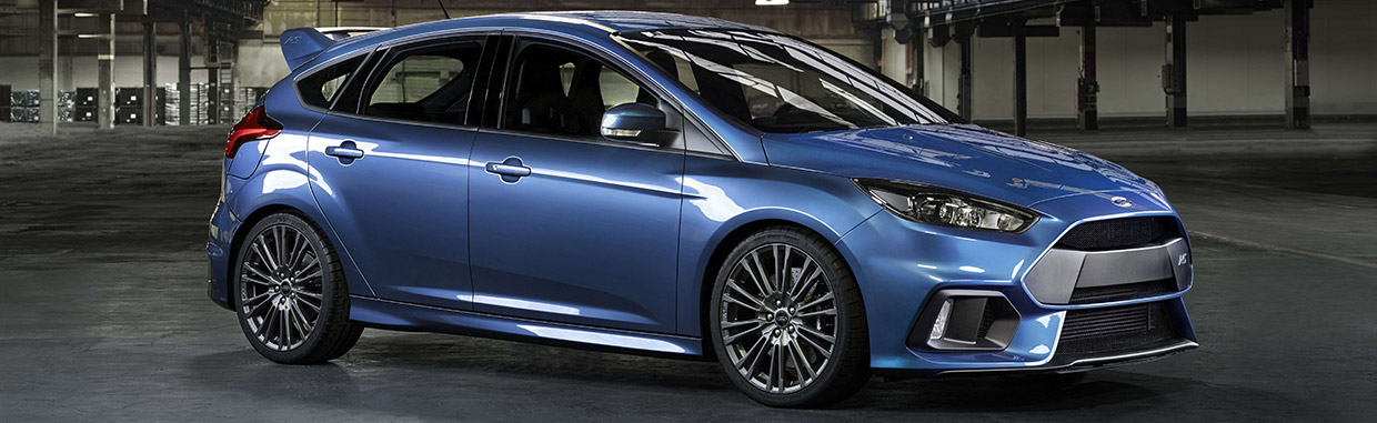 2016 Ford Focus RS Side View