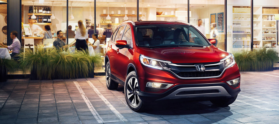 2016 Honda CR-V Front View
