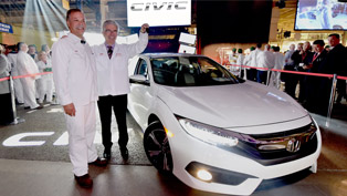 2016 honda civic sedan begins its production today!