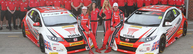 Honda Racing Team Showed Their Full Potential at BTCC