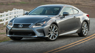 Lexus Prepares for 2016 With Upgrades on the RC Lineup