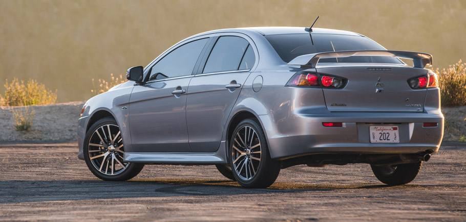 2016 Mitsubishi Lancer Rear View