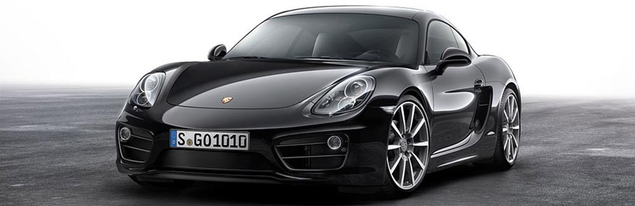 2016 Porsche Black Edition Cayman