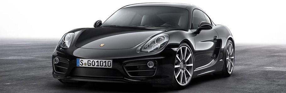 2016 Porsche Black Edition Cayman