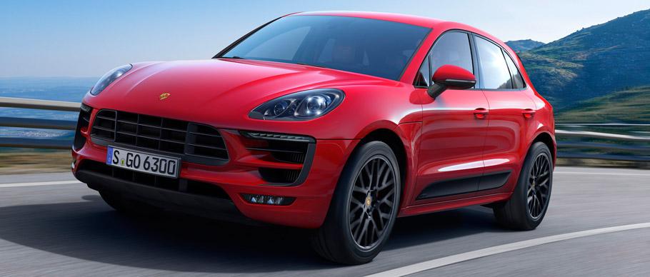 Porsche Macan GTS Front View